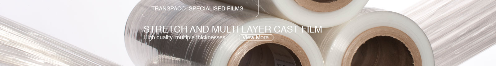 TRANSPACO SPECIALISED FILMS - Stretch and multi layer cast film