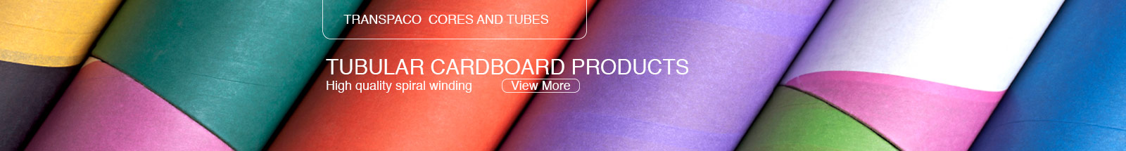 TRANSPACO CORES AND TUBE - Tubular cardboard products